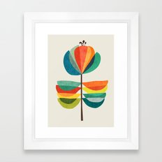 Whimsical Bloom Framed Art Print