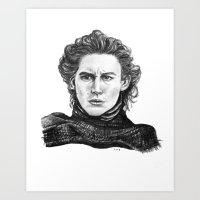 Kylo Ren Art Print