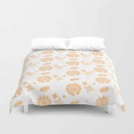 Spriton Echidna, Playful Pattern Duvet Cover