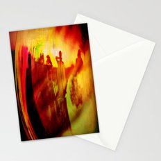 The fire Stationery Cards