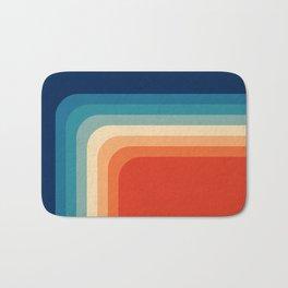 Retro 70s Color Palette III Bath Mat
