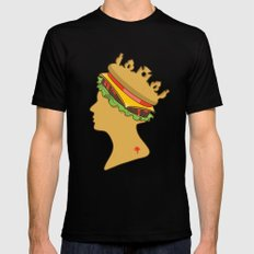 Burger Queen aka Royal With Cheese Mens Fitted Tee Black LARGE