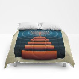 Art Deco Hanukkah Comforters