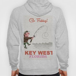 Key West Floria Fishing Hoody