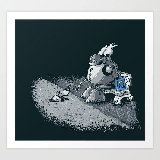 Here Ya Go Little Fella! Art Print