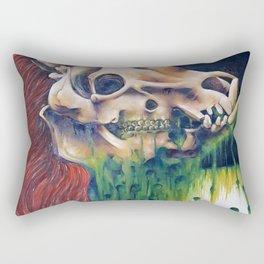 Pot bellied pig Rectangular Pillow