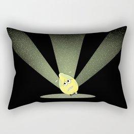 dreading the limelight Rectangular Pillow