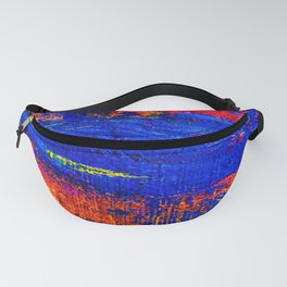 (N10) Abstract Epic Colored Moroccan Artwork. Fanny Pack