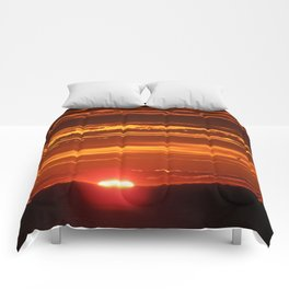 Red Sky Flight Comforters