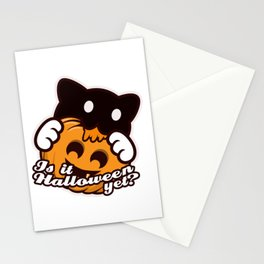 Is It Halloween Yet? Stationery Cards
