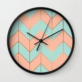 Marble Geometry 059 Wall Clock