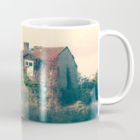 house Mugs featuring HOUSE by Logram