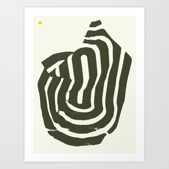 Burnt Mountain — Matthew Korbel-Bowers Art Print