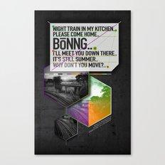 Bönng I Canvas Print