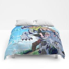 Digimon Tri Mimato Comforters