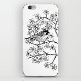 spring bird iPhone Skin