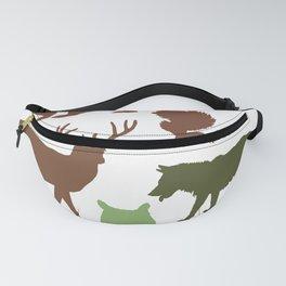 Wild Animals Fanny Pack