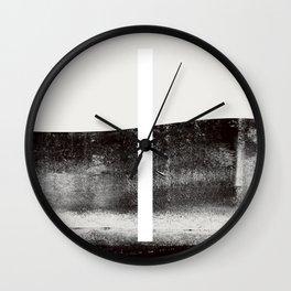 self control Wall Clock
