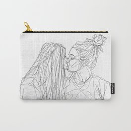 Girls kiss too Carry-All Pouch