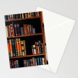 The Bookshelf (Color) Stationery Cards