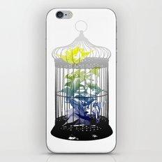 Green Finches iPhone & iPod Skin