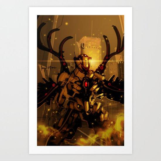 War Zero Art Print