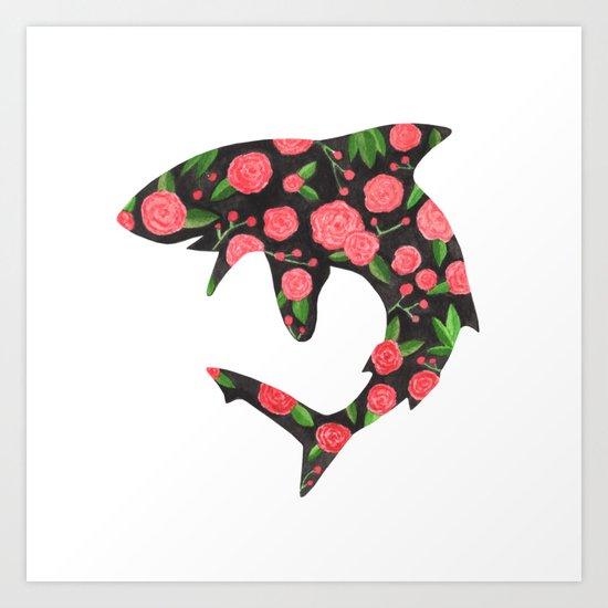 Floral Shark by lindusmaximus86