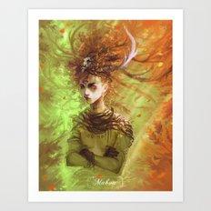 Mabon Art Print