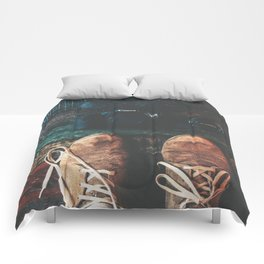 SHOES - CANON - CAMERA - PHOTOGRAPHY Comforters