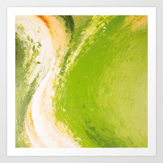 Abstract painting II Art Print