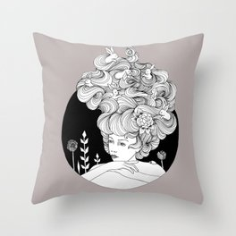 Travelling - Mulled Time Throw Pillow