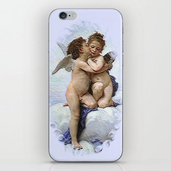 Bouguereau-First Kiss iPhone & iPod Skin