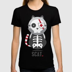 Scat Womens Fitted Tee Black SMALL