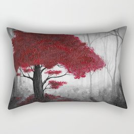 The Dark Forest (color) Rectangular Pillow