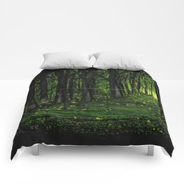 Firefly Forest Comforters