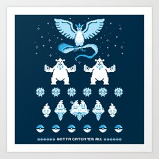 Such an Ice Sweater Art Print