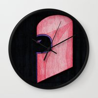magneto Wall Clocks featuring Magneto by Sebastian DeTemple
