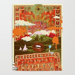 MORNING PSYCHEDELIA Poster