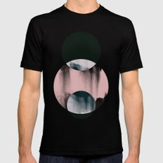 Minimalism 14 Mens Fitted Tee Black SMALL