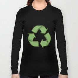 Recycle Symbol Long Sleeve T-shirt