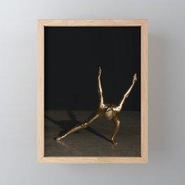 Məˈtalik Framed Mini Art Print