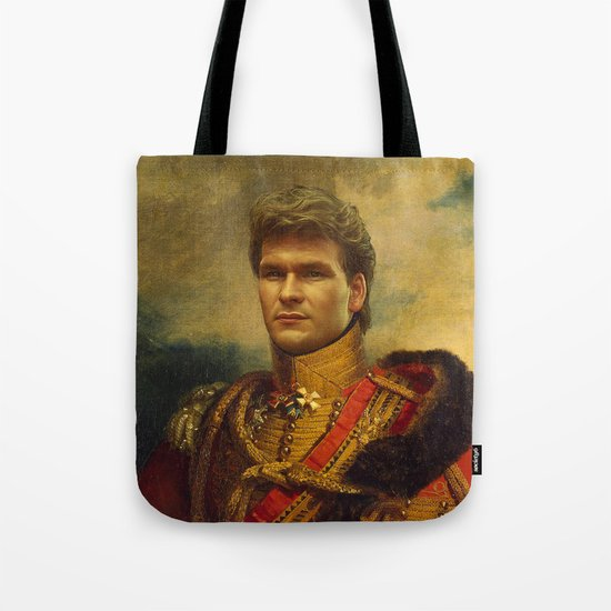 Patrick Swayze - replaceface Tote Bag