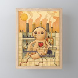 Feelings Factory Framed Mini Art Print
