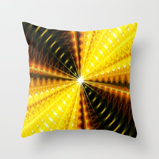 At the end of the light Throw Pillow