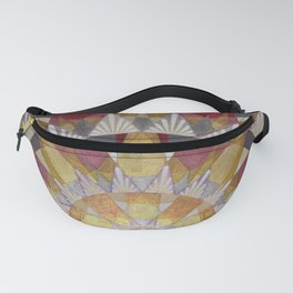 Triangle Explosion Fanny Pack