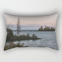 The View From Copper Harbor Rectangular Pillow