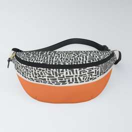 City Sunset Abstract Fanny Pack