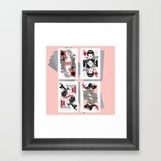 Queen x Framed Art Print