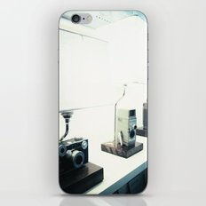 Vintage Camera Lamps iPhone & iPod Skin
