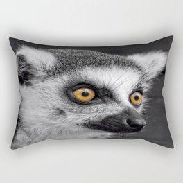 Ring-Tailed Lemur Rectangular Pillow